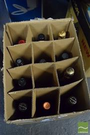 Sale 8530 - Lot 2210 - Box of Alcohol incl Ltd Ed Collectors Wine, 30th National Show Trial NSW, Semillon/Chardonnay