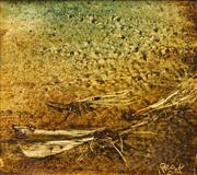 Sale 8575 - Lot 515 - Kevin Charles (Pro) Hart (1928 - 2006) - Grasshoppers 14.5 x 16cm