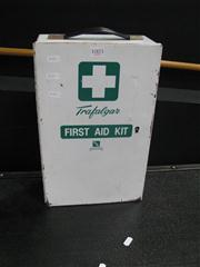 Sale 7972A - Lot 1003 - Vintage Metal First Aid Kit