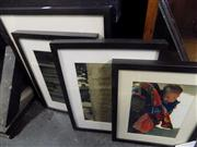 Sale 8441T - Lot 2089 - Collection of (4) framed photographs, various sizes