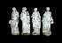 Sale 3691 - Lot 34 - A SET OF FOUR VICTORIAN MARBLE FIGURES EMBLEMATIC OF THE FOUR SEASONS