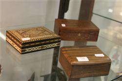 Sale 7914 - Lot 94 - Inlaid Box & 2 Others