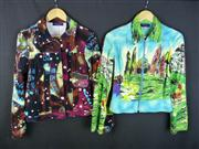 Sale 7982B - Lot 22 - Kenzo, two brightly patterned jackets (M)