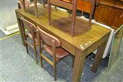 Sale 8013 - Lot 1461 - Rustic Timber Table