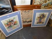 Sale 8422T - Lot 2060 - Collection of five framed decorative prints, various sizes