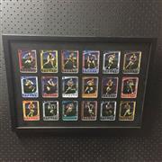 Sale 8805A - Lot 869 - Weetbix Captain Wildcard, 2012, Set of 18, framed