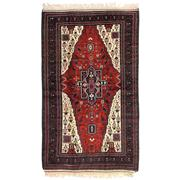 Sale 8810C - Lot 2 - A Persian Antique Tribal Beluch In Handspun Wool, 220 x 130cm