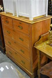 Sale 7987A - Lot 1299 - Pine Chest of 5 Drawers
