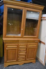 Sale 8054 - Lot 1010 - Large Timber Bookcase