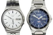 Sale 8426 - Lot 498 - CITIZEN & SEIKO AUTOMATIC GENTS WRISTWATCH; Citizen WR100 with blue dial, centre seconds, day date on a 21 jewell movement, Seiko 5...