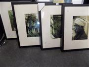 Sale 8441T - Lot 2078 - Collection of (4) framed photographs, various sizes