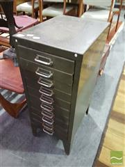 Sale 8532 - Lot 1079 - Metal 10 Drawer Filing Cabinet