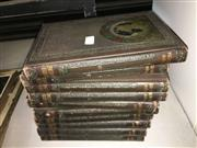 Sale 8659 - Lot 2314 - Volumes 1-10 Pictured Knowledge, ed. C.N. Kendall, pub. M. Hughes Co.