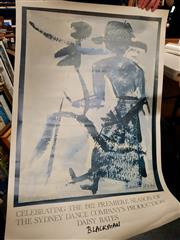 Sale 8678 - Lot 2075 - Charles Blackman Poster for Ballet Sydney Dance Company 1982 Season Daisy Bates, signed lower centre