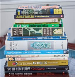 Sale 9103M - Lot 503 - A collection of reference books, including 20th Century Antiques Guide.