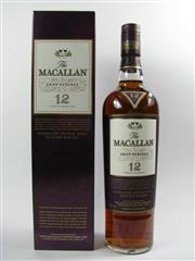 Sale 8290 - Lot 407 - 1x The Macallan Gran Reserva 12YO Highland Single Malt Scotch Whisky - 2009 limited edition, in box