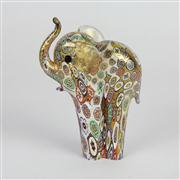 Sale 8396A - Lot 22 - Millefiori Art Glass Elephant