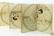 Sale 8486 - Lot 10 - Album of Erotic Chinese Paintings