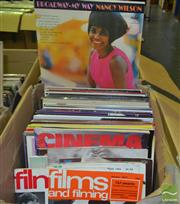 Sale 8541 - Lot 2015 - Box of Records & some Film Magazines