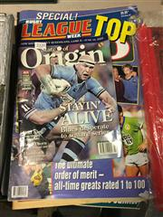 Sale 8659 - Lot 2350 - 5 Rugby League Magazines