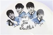 Sale 8783 - Lot 39 - Beatles Dish And Belt Buckle