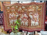 Sale 8843 - Lot 1041 - Indian Wall Hung Tapestry
