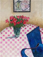 Sale 9011 - Lot 2016 - Stanley Perl (1942 - ) - Red Roses 61 x 46 cm (total: 61 x 46 x 2 cm)