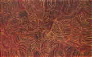 Sale 9067 - Lot 532 - Joy (Petyarre) Pitjara (1962 - ) - Yam Seed Dreaming 126 x 201 cm (stretched and ready to hang)