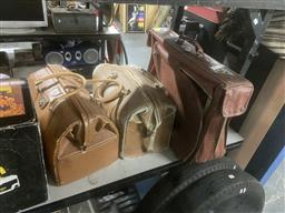 Sale 9106 - Lot 2188 - 2 Vintage Gladstone Style Bags & Another (3)