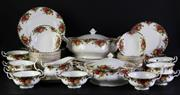 Sale 8952 - Lot 53 - Royal Albert Old Country Rose Dinner Service