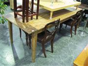 Sale 7937A - Lot 1120 - Recycled Elm Table (220 cm)