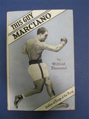 Sale 8419A - Lot 60 - Boxing 1921 - a box containing Boxing (UK) 1921 (complete and bound), and Boxing 1918 (part year bound); t/w 18 other boxing books