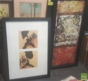 Sale 8446 - Lot 2071 - A Pair of Framed Decorative Prints