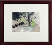 Sale 8844 - Lot 37 - Artist Unknown - Roddy? - Still Life with Pears, 1993 17 x 24cm
