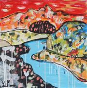 Sale 8918A - Lot 5001 - Yosi Messiah (1964 - ) - Into the Mountains 85 x 85 cm