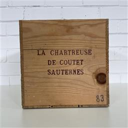 Sale 9257W - Lot 982 - French Timber Wine Box for 1983 La Chartreuse de Coutet