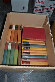Sale 8013 - Lot 1794 - Box of Vintage Books incl. Suyin, H. A Many Splendored Thing, pub. R.S., 1954; Schwarz-Bart, A. The Last of the Just, pub. R.S.,...