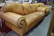 Sale 8532 - Lot 1373 - Three Seater With Two Seater Lounge