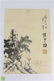 Sale 8563 - Lot 230 - Mountain And Figure work On paper