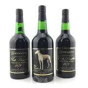 Sale 8553W - Lot 18 - 3x 1979 Hoffmanns White Panther Vintage Port