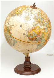 Sale 8863H - Lot 5 - A terrestrial globe and stand, 12 inch diameter