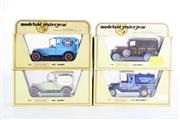 Sale 8960T - Lot 19 - A Set Of Four Matchbox Models of Yesteryear Toy Cars Incl Chivers