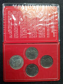 Sale 9254 - Lot 2271 - Her Majesty Queen Elizabeth The Queen Mother the 80th Birthday Collection 4th August 1900-1980 Coins