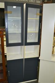 Sale 8093 - Lot 1459 - Pair of Tall Wall Cabinets
