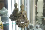 Sale 8346 - Lot 28 - Bronze Buddha Figure