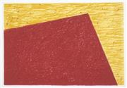 Sale 8492A - Lot 5090 - Helen Eager (1952 - ) - Untitled, 1997 (Red and Yellow Composition) 42.5 x 62.5cm (frame size: 74 x 94.5cm)