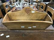 Sale 8809 - Lot 1054 - Vintage Timber Cutlery Tray