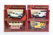 Sale 8960T - Lot 20 - A Set Of Four Matchbox Models of Yesteryear Toy Cars Incl Shell