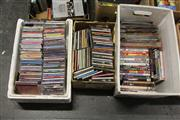 Sale 8169 - Lot 2229 - 3 Boxes of CDs & DVDs