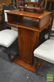 Sale 8284 - Lot 1096 - Podium w Single Door